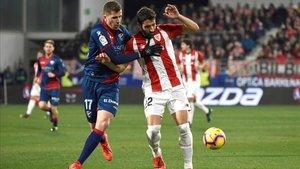 Actualmente, el Huesca se encuentra en puestos de ascenso directo