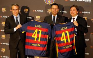 El acuerdo con Lassa Tyres fue firmado este martes