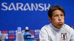 Akira Nishino en conferencia de prensa