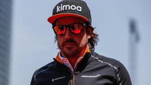 Alonso en el Gran Premio de la China de Fórmula 1