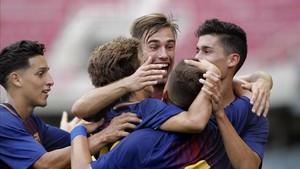El Barça buscará la segunda Youth League de su historia