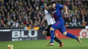 El Barça empató con el Valencia