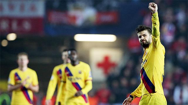 El Barça sufrió para ganar en Praga
