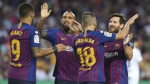 El Barça tiene la Champions como objetivo y quiere llevarse muchas alegrías