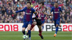 FC Barcelona, 2 - Atheltic, 0
