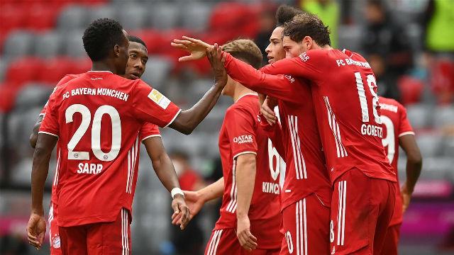 El Bayern pasa por encima del Eintracht Frankfurt