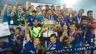 El Benglauru celebró la conquista del título de la Superliga india