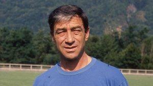 Benito Joanet, durante su etapa como entrenador del Espanyol.