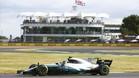 Bottas, en la primera sesión en Silverstone