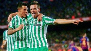 Lo Celso vive su momento más feliz como futbolista en el Betis