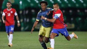 Chile y Colombia igualaron a dos en Santiago