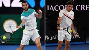 Cilic y Federer se miden a partir de las 9.30 en la final del Open de Australia