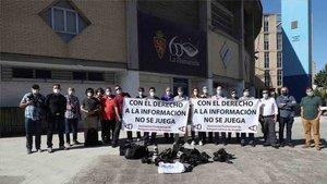 El Colegio de Periodistas de Catalunya, contra el protocolo de LaLiga