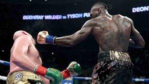 El combate entre Wilder y Fury acabó en nulo