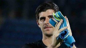 Courtois, portero del Real Madrid