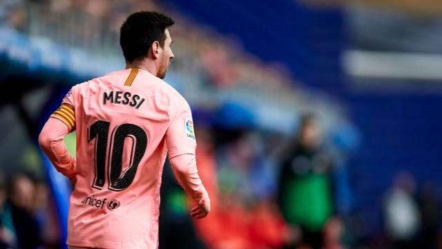 El doblete de Messi que le acerca a la Bota de Oro