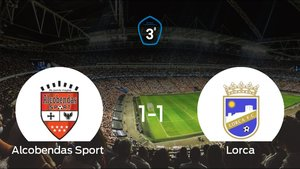 Empate 1-1 entre Alcobendas Sport y Lorca: todo se decidirá en el duelo de vuelta de los playoff