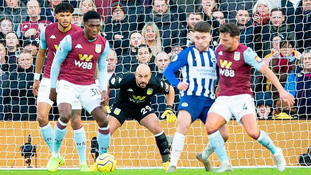 Empate entre el Brighton y el Aston Villa