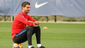 Gerard López cierra su etapa en el Barça B