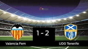 El Granadilla Tenerife Egatesa gana por 1-2 al Valencia Femenino