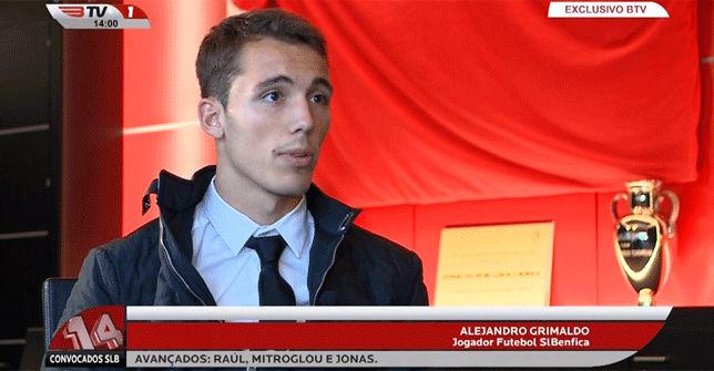 Grimaldo ya es nuevo jugador del Benfica