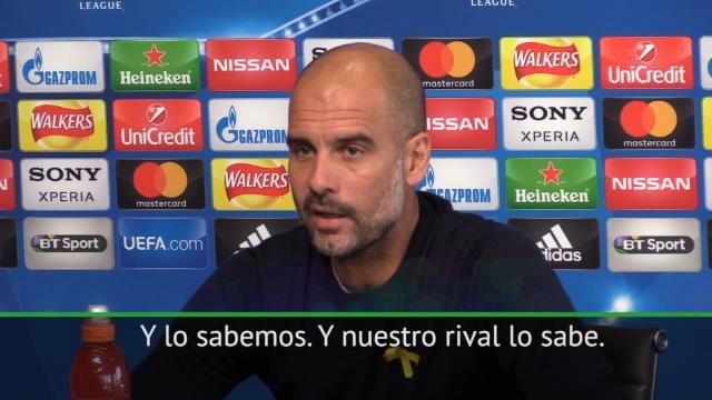 Pep Guardiola habló en la previa de Champions