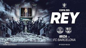 El UD Ibiza le desea un buen viaje al Barça