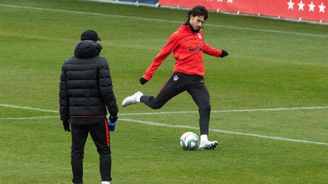 Joao Félix y el Atleti, listos para Granada