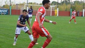 Johan Mojica reapareció de manera efímera en un amistoso contra el Toulouse