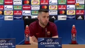 Jordi Alba: Messi nos hace mejores