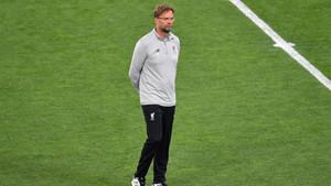 Jürgen Klopp durante los prolegómenos de la final de la Champions Real Madrid-Liverpool