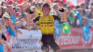 Kuss culminó la mejor carrera de su vida con un gran triunfo en Asturias
