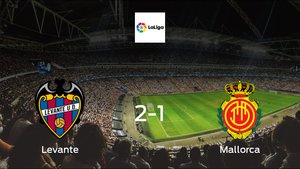 Levante cruise to a 2-1 victory vs. Mallorca at Ciudad de Valencia