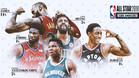 Los cinco jugadores más votados del Este