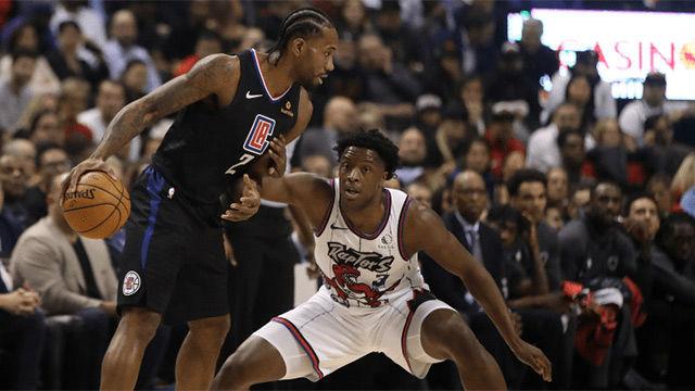 Los Clippers derrotaron a los Raptors en el retorno de Leonard