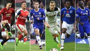 Los seis candidatos a jugador del año de la Premier