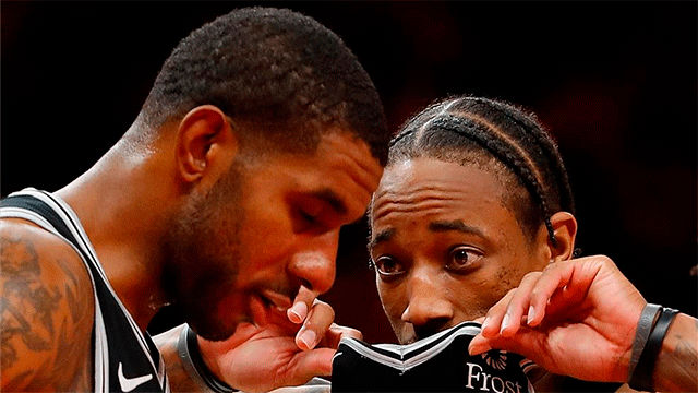 Los Spurs se imponen a Oklahoma City Thunder (121-112)