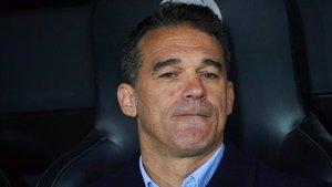 Luis García Plaza, técnico del Mallorca