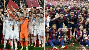 El Madrid ganó el Mundial de Clubes en 2014, pero el FC Barcelona se llevó la Liga en 2015. ¿Se repetirá la historia?
