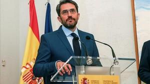 Maxim Huerta, nuevo ministro de Cultura y Deportes