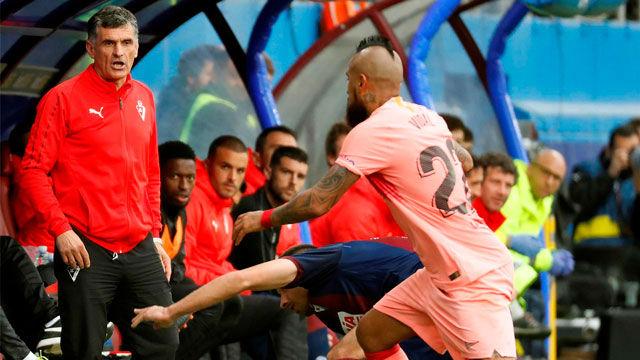 Mendilibar: Hemos podido ganar, pero el empate está bien