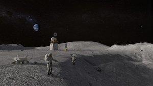 La NASA busca comprar muestras de suelo lunar a empresas privadas