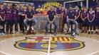 Navarro, Sergio Lozano y Panadero, en la presentación del Barça Academy Campus