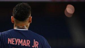 Neymar no tuvo su mejor partido ayer en Champions