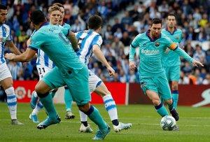 Oyarzábal adelanta a la Real de penalti (ES)