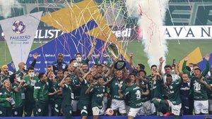 El Palmeiras consiguió su primer título desde el 2008