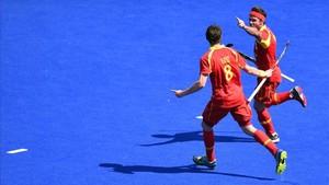 Pau Quemada ha abierto el marcador ante Holanda