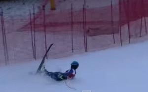 Paul de la Cuesta sufrió una caída que le lesionó de gravedad