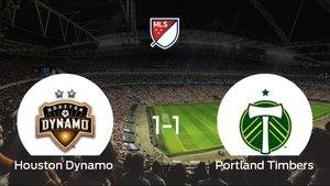El Portland Timbers logra un empate a 1 frente al Houston Dynamo