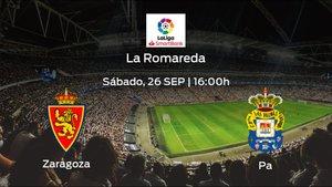 Previa del encuentro de la jornada 3: Real Zaragoza contra Las Palmas
